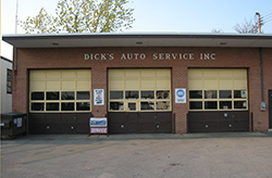 Dick's Auto Service, Inc.--a place you'll want to visit to keep your car in top condition.